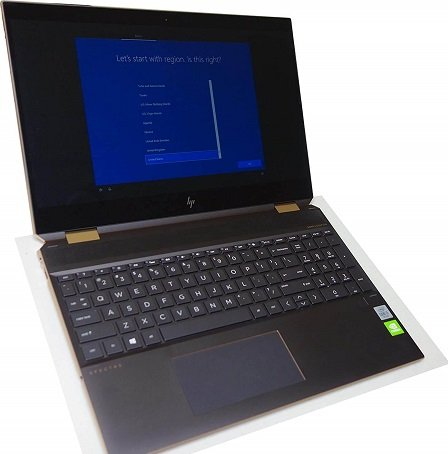 HP Spectre x360 15-inches