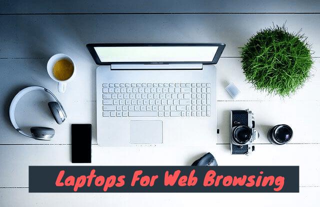 laptop for web browsing